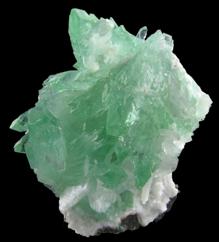 Apophyllite on Stilbite from Poonah District, Maharashtra, India [db_pics/pics/apoph1b.jpg]