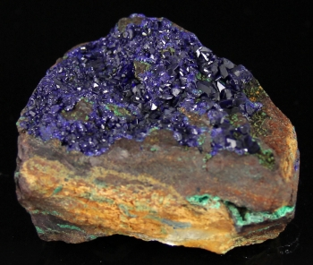 Azurite from Morenci Mine, Greenlee Co., Arizona [db_pics/pics/azurite6c.jpg]