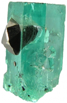 Beryl var. Emerald with Pyrite from Muzo Mine, Muzo, Vasquez-Yacopí Mining District, Boyacá Department, Colombia [db_pics/pics/emerald2b.jpg]