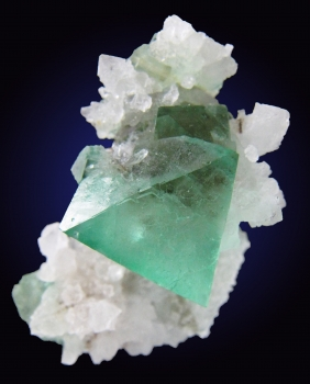 Fluorite with Quartz from Riemvasmaak, Kakamas Dist. Northern Cape Prov., South Africa [db_pics/pics/fluorite10a.jpg]