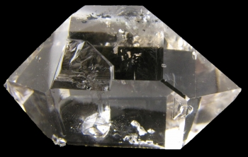 Quartz, var. Herkimer Diamond from Herkimer Diamond Mine, Middleville, New York [db_pics/pics/herkimer1a.jpg]