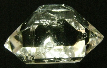 Quartz, var. Herkimer Diamond from Herkimer Diamond Mine, Middleville, New York [db_pics/pics/herkimer1b.jpg]