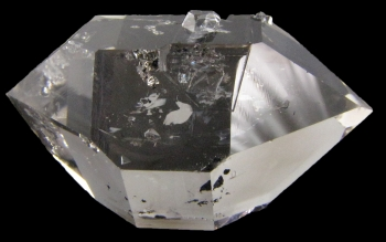 Quartz, var. Herkimer Diamond from Herkimer Diamond Mine, Middleville, New York [db_pics/pics/herkimer1c.jpg]