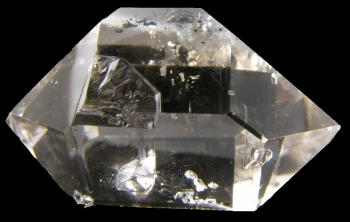 Quartz, var. Herkimer Diamond from Herkimer Diamond Mine, Middleville, New York [db_pics/pics/herkimer1d.jpg]