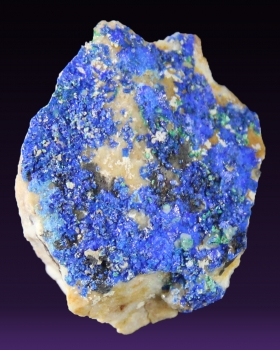 Linarite from Sunshine #1 Mine, Bingham, NM [db_pics/pics/linarite1a.jpg]