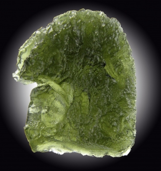 Moldavite from Chlum, Moldau River valley, Czech Republic [db_pics/pics/moldavite6a.jpg]