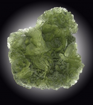 Moldavite from Chlum, Moldau River valley, Czech Republic [db_pics/pics/moldavite7b.jpg]
