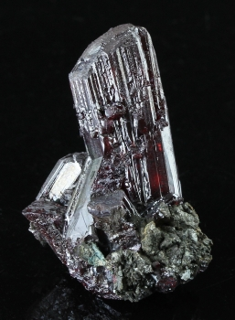 Proustite from Nieder Schlema, Germany [db_pics/pics/proustite1b.jpg]