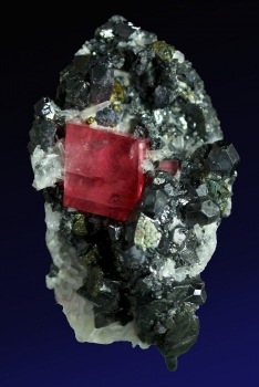 Rhodochrosite and Tetrahedrite from Pincushion 2 pocket, Sweet Home Mine, Alma, Colorado [db_pics/pics/rhodochrosite9b.jpg]