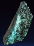 Atacamite on Chrysocholla from La Farola Mine, Cerro Pintado, Copiapo Province, Atacama Region, Chile [ATACAMITE3]