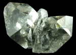 Quartz, var. Herkimer Diamond from Ace of Diamonds Mine, Herkimer County,  New York [HERKIMER2]