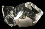 Quartz, var. Herkimer Diamond from Ace of Diamonds Mine, Herkimer County,  New York [HERKIMER4]