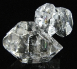 Quartz, var. Herkimer Diamond from Ace of Diamonds Mine, Herkimer County,  New York [HERKIMER6]