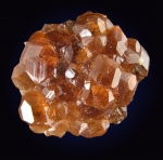 Hessonite Garnet from the Jeffrey Mine, Asbestos, Quebec, Canada