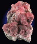 Rhodochrosite on matrix from Uchucchacua Mine, Oyon Prov., Lima Dept., Peru [RHODOCHROSITE4]